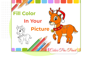 How to fill colors in an abstract coloring book