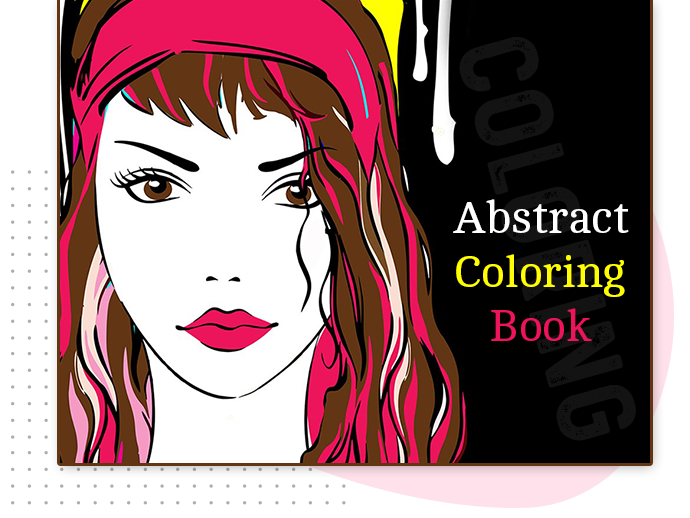 abstract color book main banner