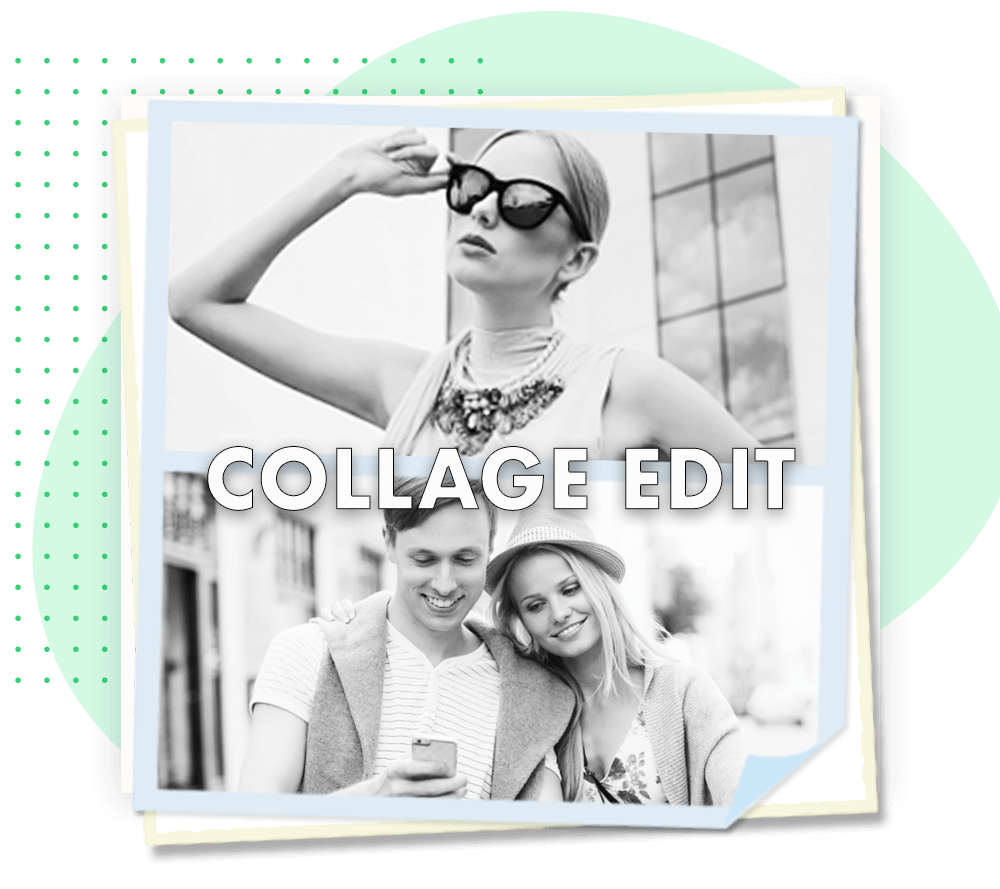How to Edit Grid Collage using photo grid