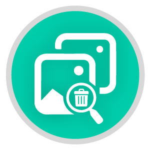 Duplicate Remover icon for video and photo editor videopix
