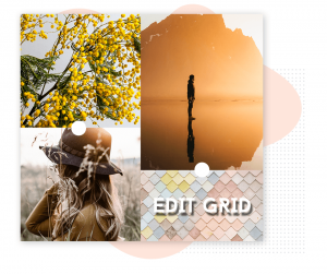 How to edit grid collage using photo art collage maker