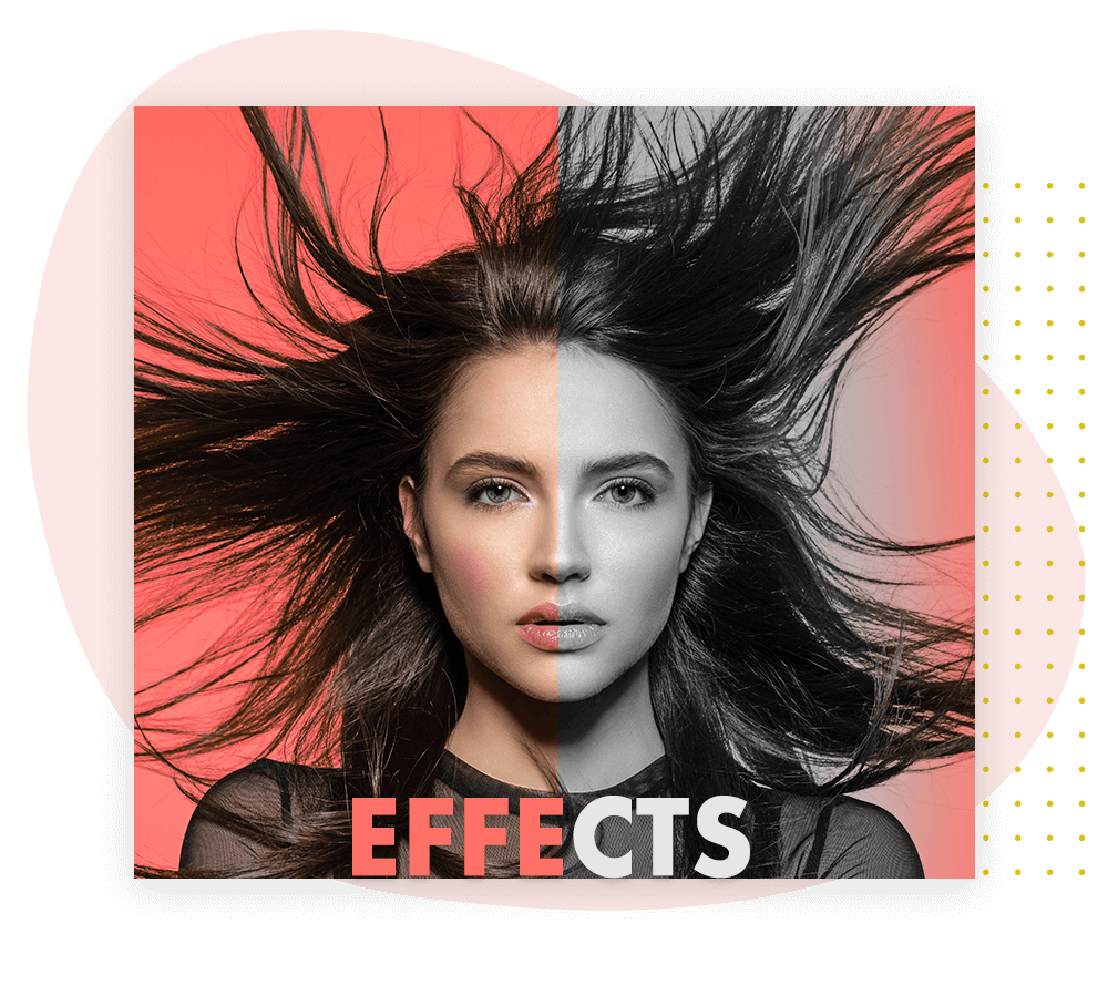 How to apply Effect to Collage photo