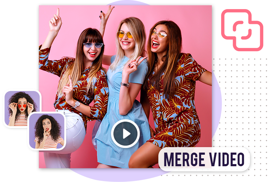 How to Merge videos using funimate all in one application