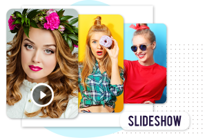 How to make Slideshow video using funimate