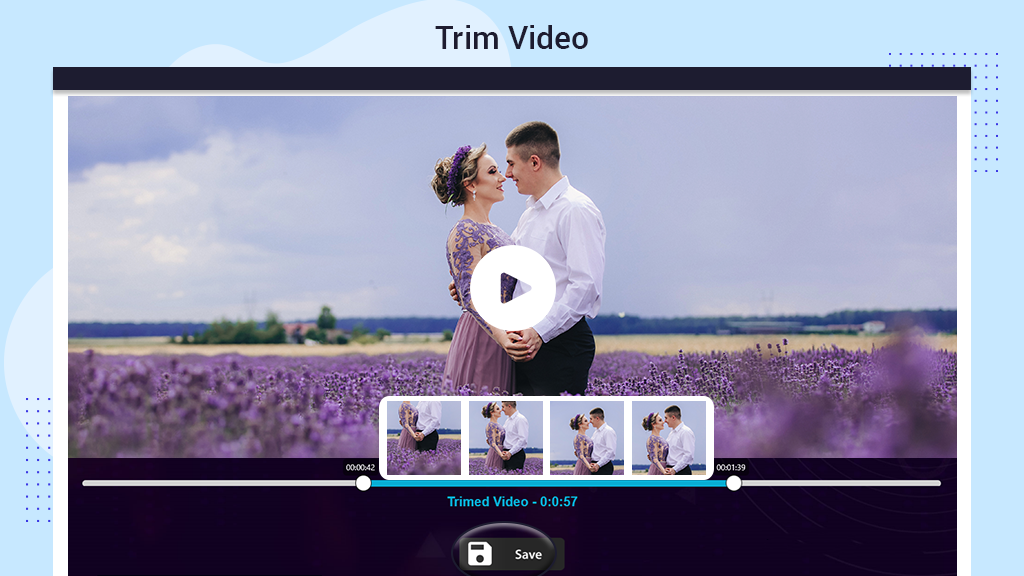 How to Merge videos using funimate all in one application, How to Trim videos