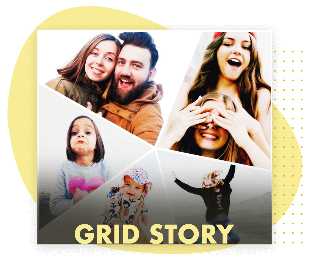 How to Choose a Grid style for collage