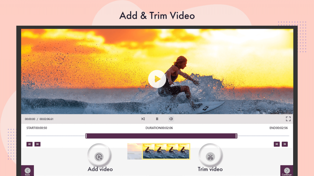 Blur Video Background Movie Maker : Free Video Editor For Windows 10 Add Effects and Theme video editor movie creator movie maker filter and theme Export Video in any size movie creator movie maker free video editor Add Animated Gif And Stickers How to add titles and captions in movie Create or Edit Videos