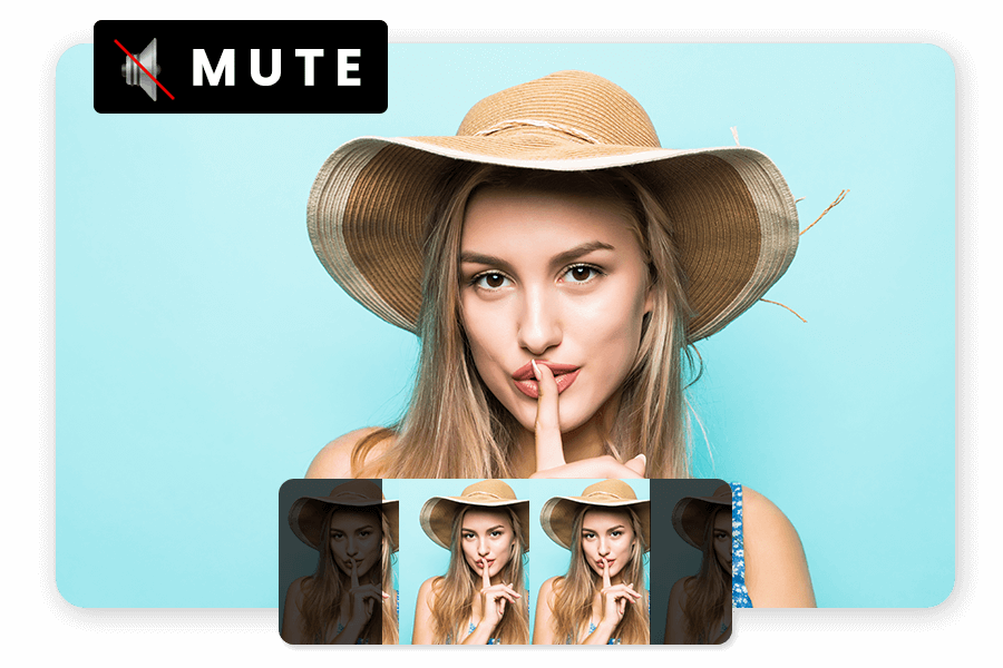 How to Mute or remove music using movie creator
