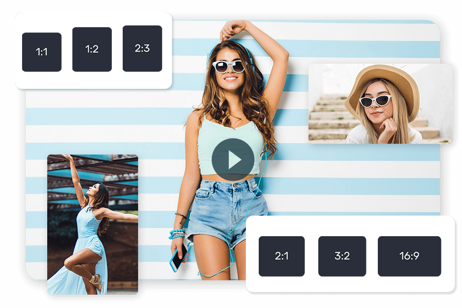 Export video in any size using movie creator