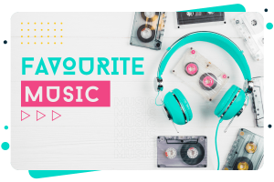 How to create Favorite music list