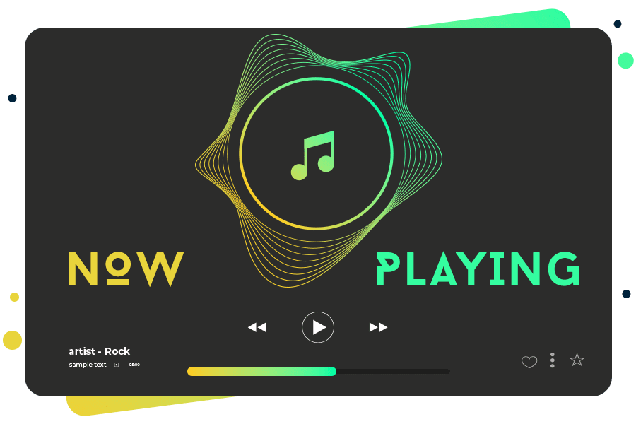 How to play audio in Mp3 music player