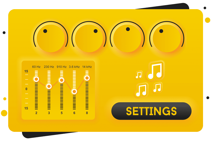 How to Customize Settings of mp3 player