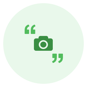 """""""Quotes"""" Creator icon for video and photo editor videopix"""
