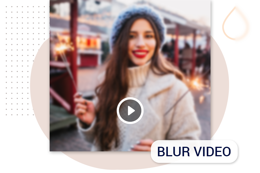 How to blur the background of video using videoshow