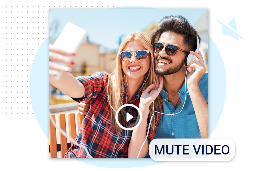 How to Mute Video using videoshow tools