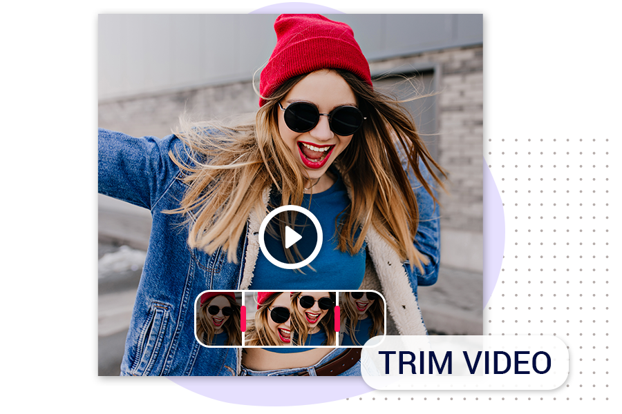 How to Trim video using videoshow tools