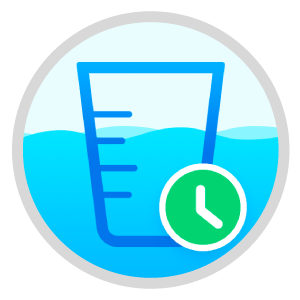 Water Reminder icon for video and photo editor videopix